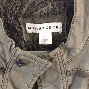 Marrakech Military Jacket